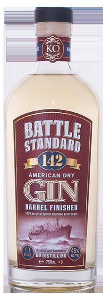 Battle Standard 142 Gin Barrel Finished