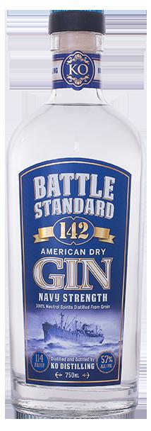 Battle Standard 142 Gin Navy Strength