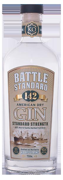 Battle Standard 142 Gin Standard Strength